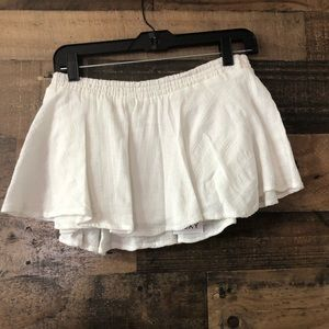 Roxy Cream Swimsuit Cover Up Skirt NWT